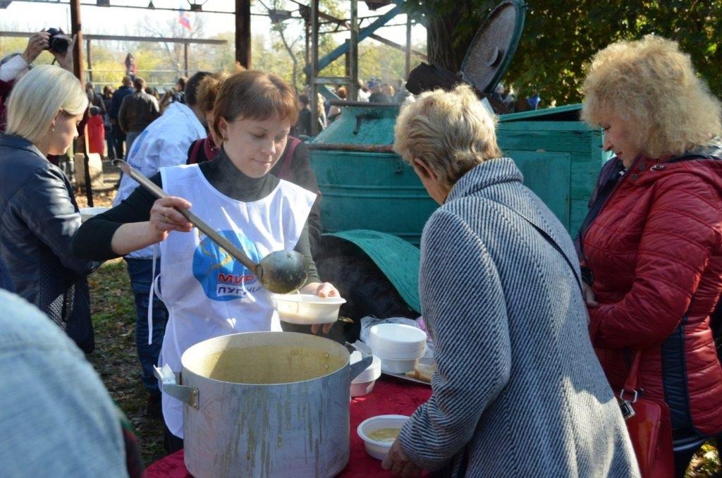 В жилом массиве Завадск в Брянке состоялся Региональный фестиваль народного искусства «Раздолье» 2