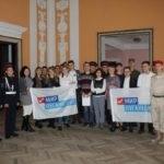 Руководитель исполнительного комитета Алчевского теротделения ОД «Мир Луганщине» встретилась с молодежью города