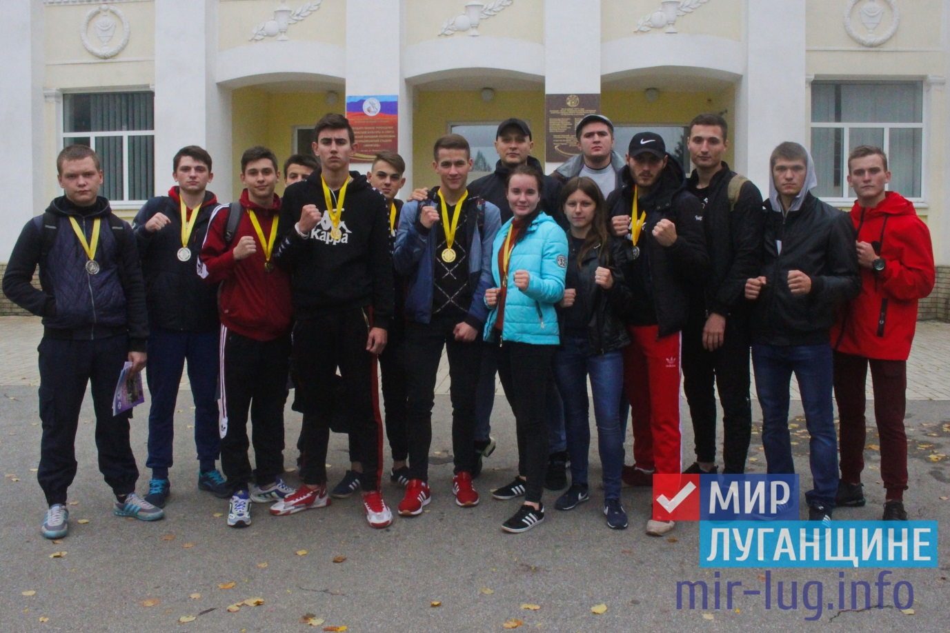 Активисты проекта «Дружина» совместно со спортсменами клуба «Осьминог» завоевали 21 золотую медаль на турнире в Луганске 1