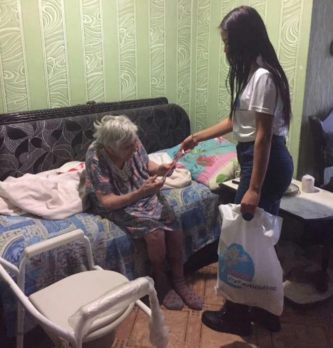 Активисты проекта «Молодая гвардия» посетили ветерана Великой Отечественной Войны 1