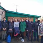 Краснодонские ученики посетили ветерана-фронтовика Великой Отечественной войны