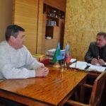 Николай Моргунов провел встречу с заместителем министра инфраструктуры и транспорта ЛНР в Брянке