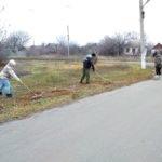 В поселке Софиевский активисты провели субботник