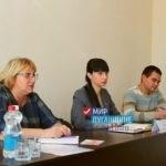 Депутат Александра Коваленко провела встречу с жителями поселка Новосветловка Краснодонского района ЛНР