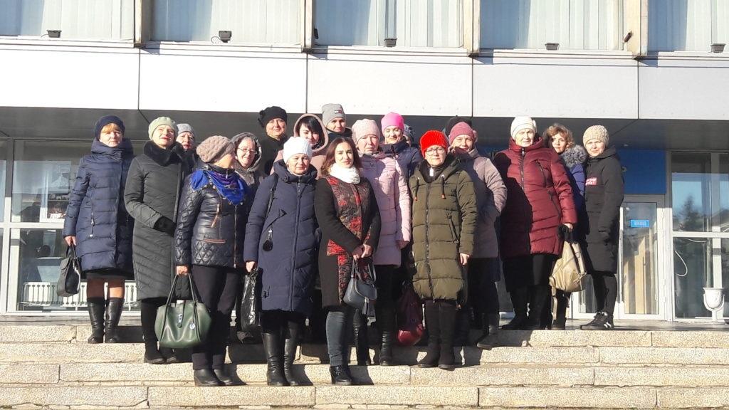 Делегация активистов Краснодонского теротделения ОД «Мир Луганщине» посетила поэтический спектакль «Время. Выбор. Воля» 3