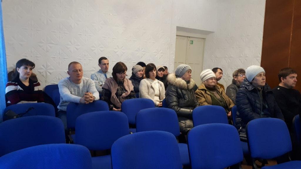 Андрей Губарев встретился с жителями Ирмино 2
