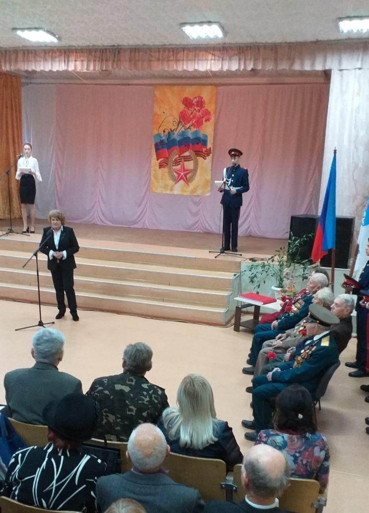 В Алчевске состоялась акция «Эстафеты Памяти» 2