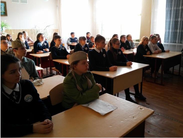 Литературная гостиная открылась в Молодогвардейской школе 4