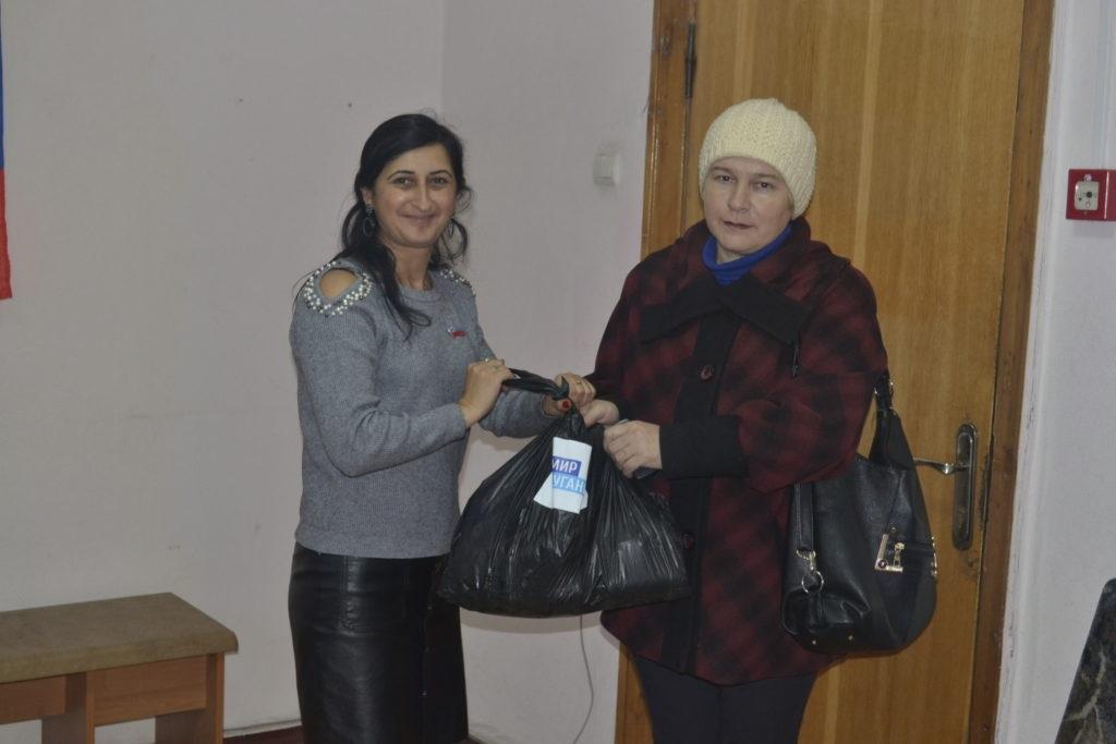 Проект «Волонтер» помог продуктовыми наборами жителям Ровеньков 4