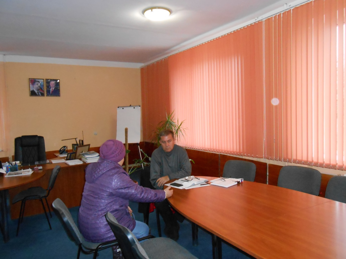 Глава Администрации Перевальского района ЛНР провел прием граждан 1