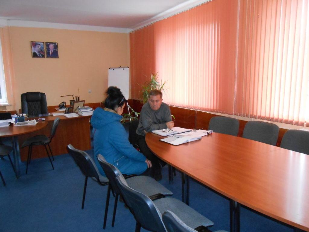 Глава Администрации Перевальского района ЛНР провел прием граждан 3