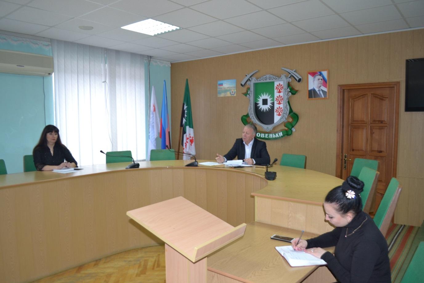 В Ровеньках Сергей Щукин провел прием граждан 1
