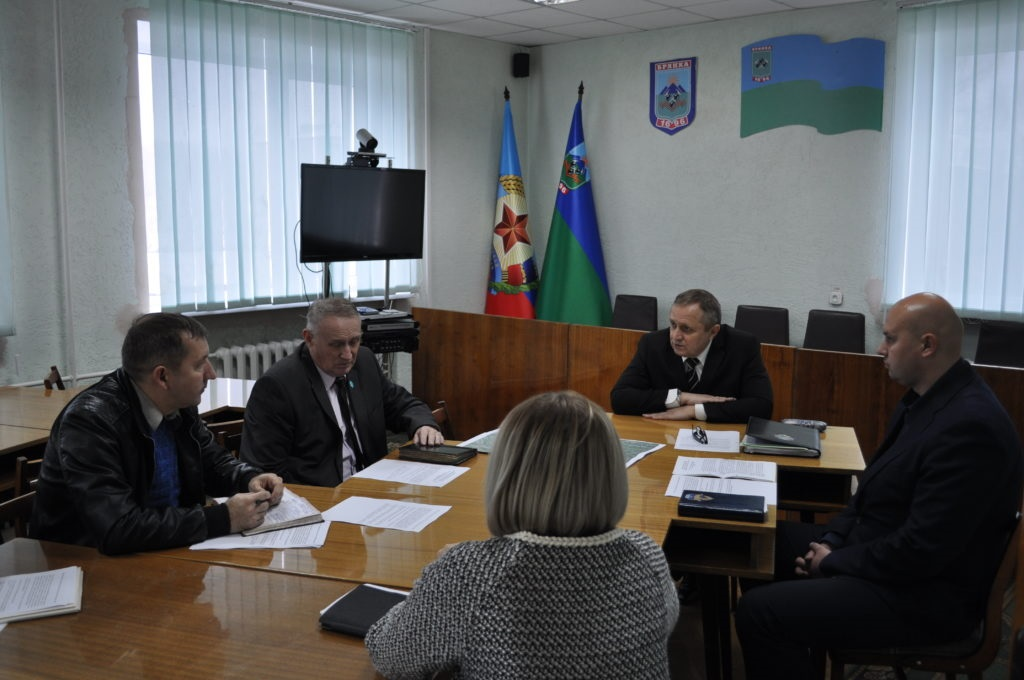 В Брянке прошел прием министра природных ресурсов и экологической безопасности ЛНР 2