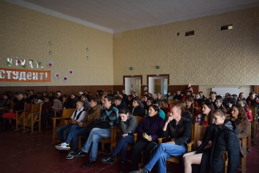 В Первомайске состоялась встреча со студентами-участниками ОД «Мир Луганщине» 6
