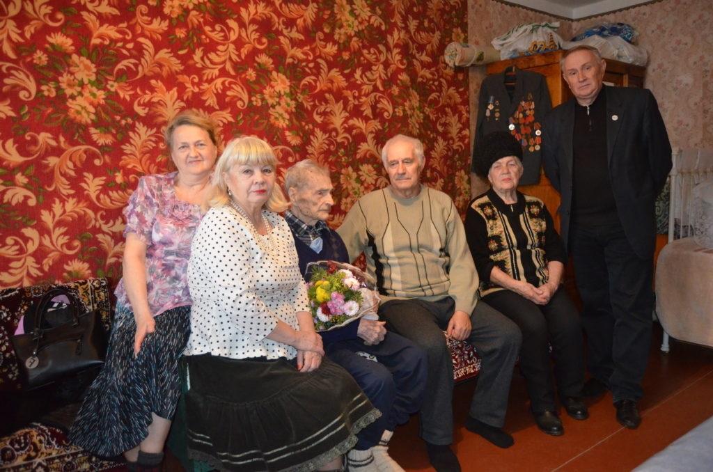 Брянковского долгожителя поздравили с 105-летием 4