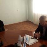 В Краснодоне Сергей Козенко провел встречу с жителями
