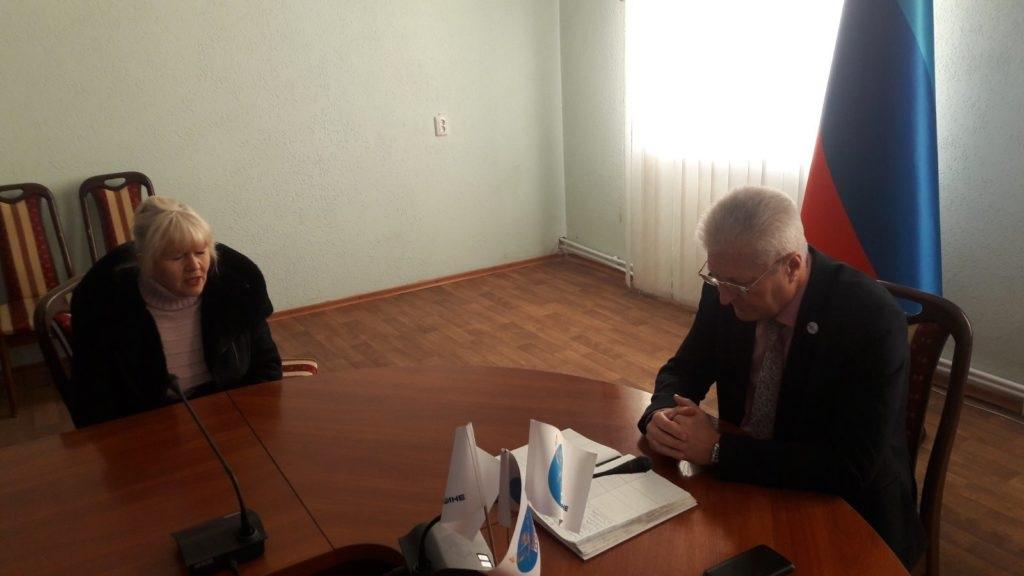В Краснодоне Сергей Козенко провел встречу с жителями 2