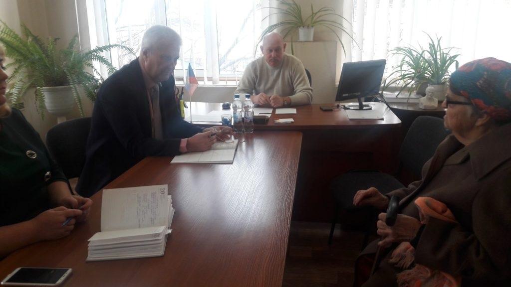 Сергей Козенко провел встречу с жителями в селе Новоанновка 2