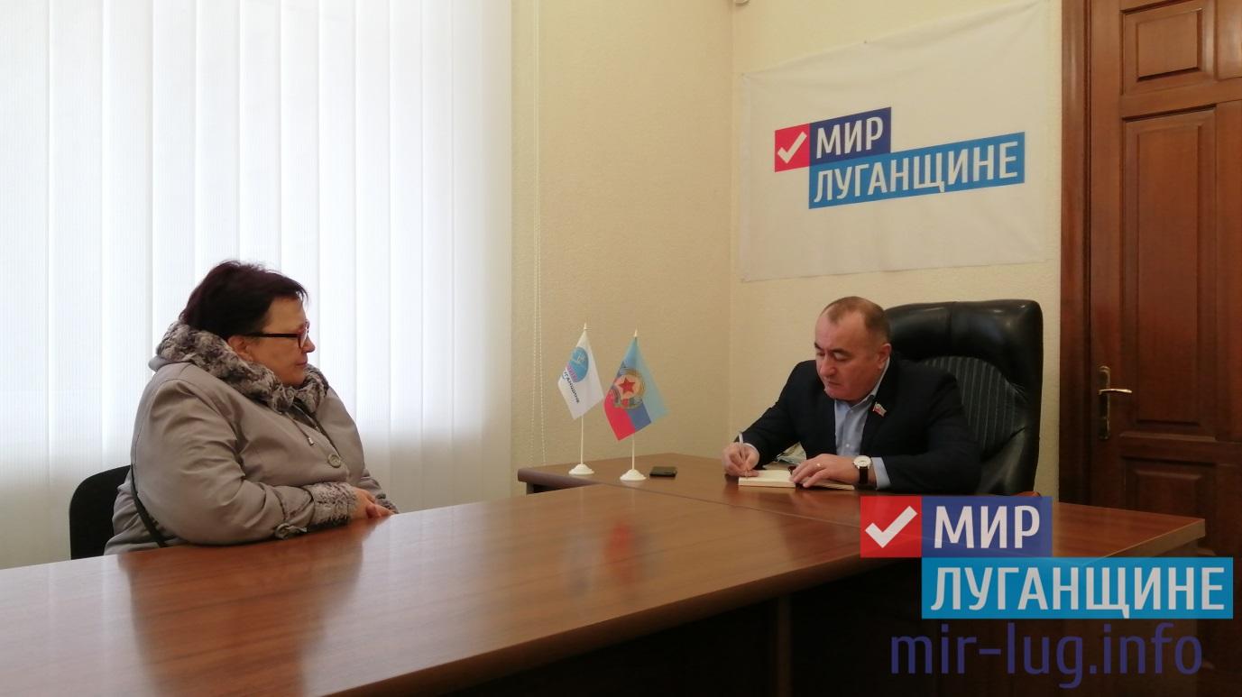 Павел Пилавов встретился с жителями Луганска 1