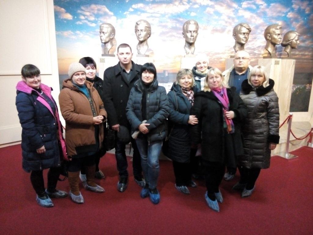 Первичное отделение № 49 Краснодонского теротделения ОД «Мир Луганщине» посетили музей «Молодая Гвардия» в Краснодоне 2