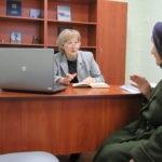 Депутат Народного Совета ЛНР Светлана Алешина провела прием граждан в Стаханове