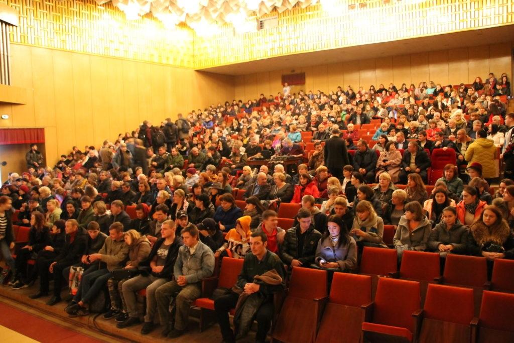 В Антраците состоялся показ фильма «Ополченочка» 2