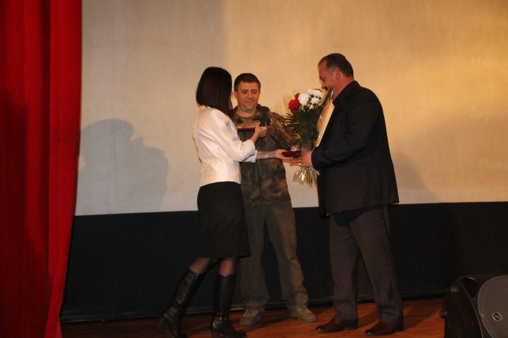 В Антраците состоялся показ фильма «Ополченочка» 5