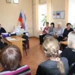 Сергей Саенко встретился с активом первичного отделения в поселке городского типа Ивановка