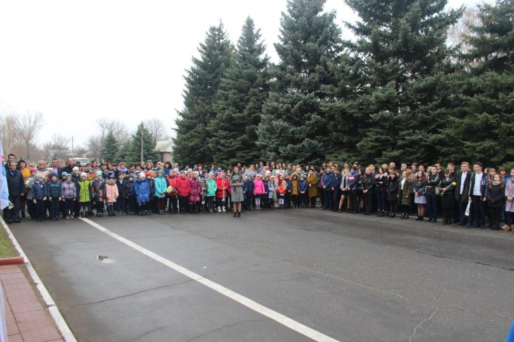 В Славяносербске прошел митинг в память о Дмитрии Полянском 3