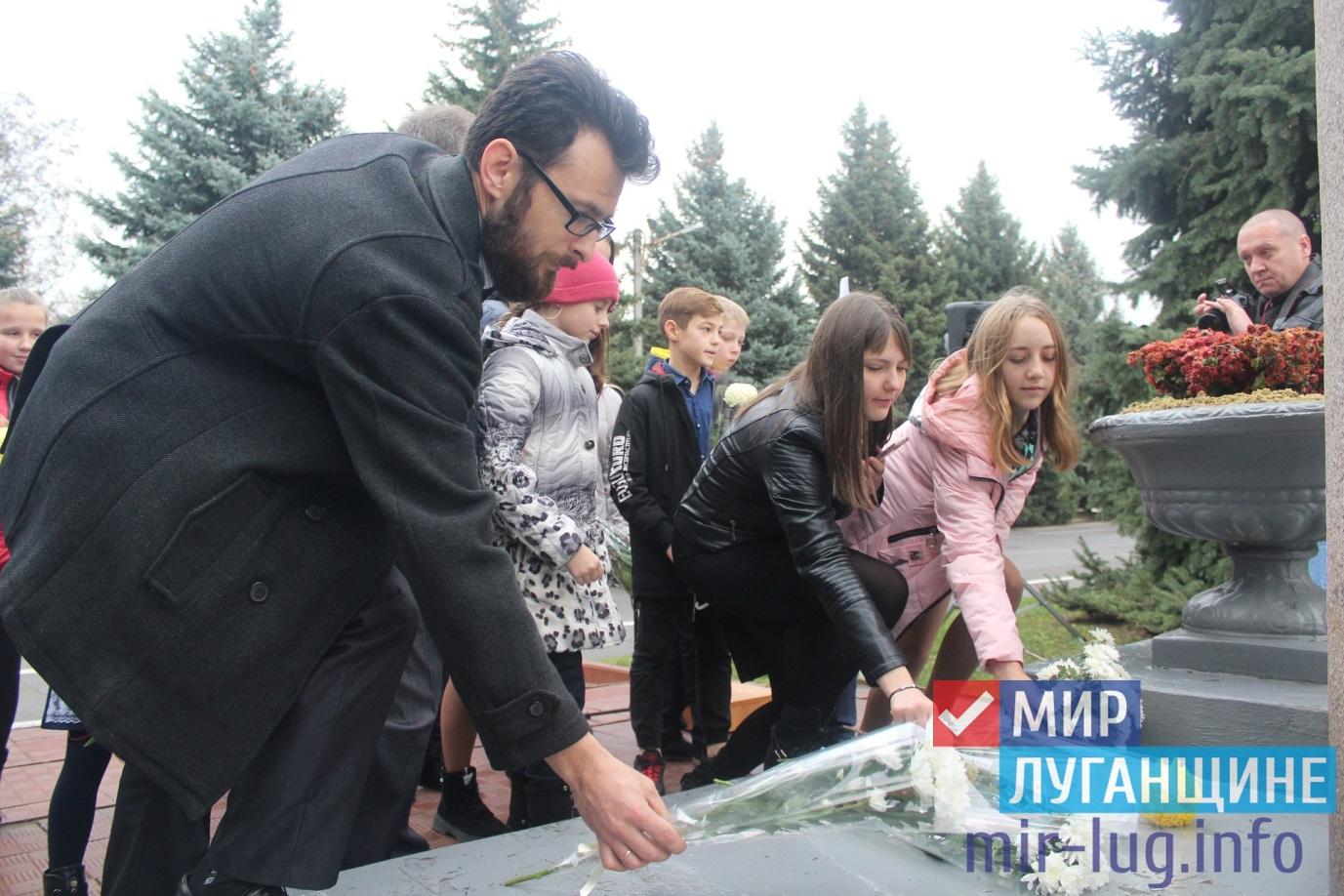 В Славяносербске прошел митинг в память о Дмитрии Полянском 1