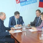 Министр образования и науки ЛНР Сергей Цемкало встретился с жителями Славяносербска