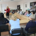 Депутат Народного Совета ЛНР Анна Мосина провела встречу с коллективом Славяносербской центральной районной библиотеки