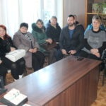 Депутат Народного Совета ЛНР Андрей Лицоев встретился с жителями поселка городского типа Родаково и села Красный Луч