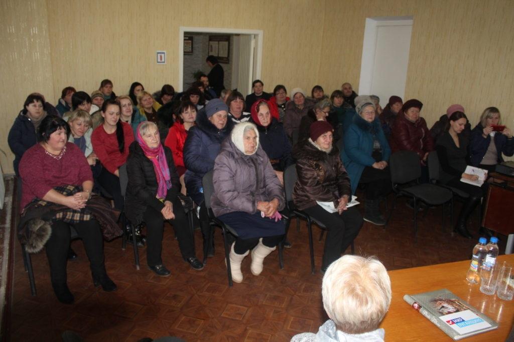 Светлана Гизай встретилась с жителями села Хорошее Славяносербского района 2