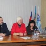 Светлана Гизай встретилась с жителями села Хорошее Славяносербского района