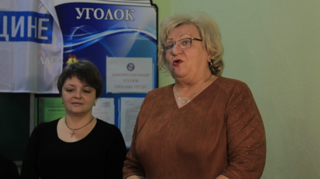 Луганская школа получила в подарок школьную доску от Общественного движения «Мир Луганщине» 6