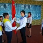 В поселке городского типа Таловое состоялась торжественная церемония передачи копии Знамени Победы