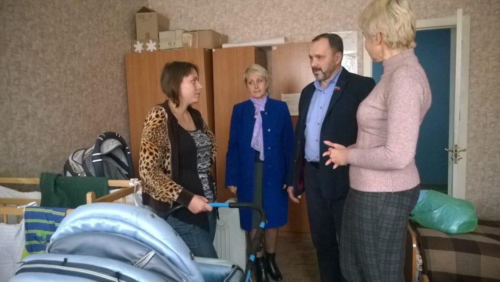 Представители ОД «Мир Луганщине» посетили Республиканский центр социально-психологической помощи в Славяносербском районе 3