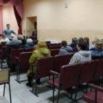 В поселке Бугаевка Перевальского района Александр Ермоленко провел прием граждан