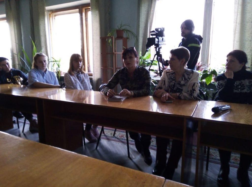 Заседание круглого стола на тему: «Нацизм – преступление против человечества» состоялось в Ровеньках 3