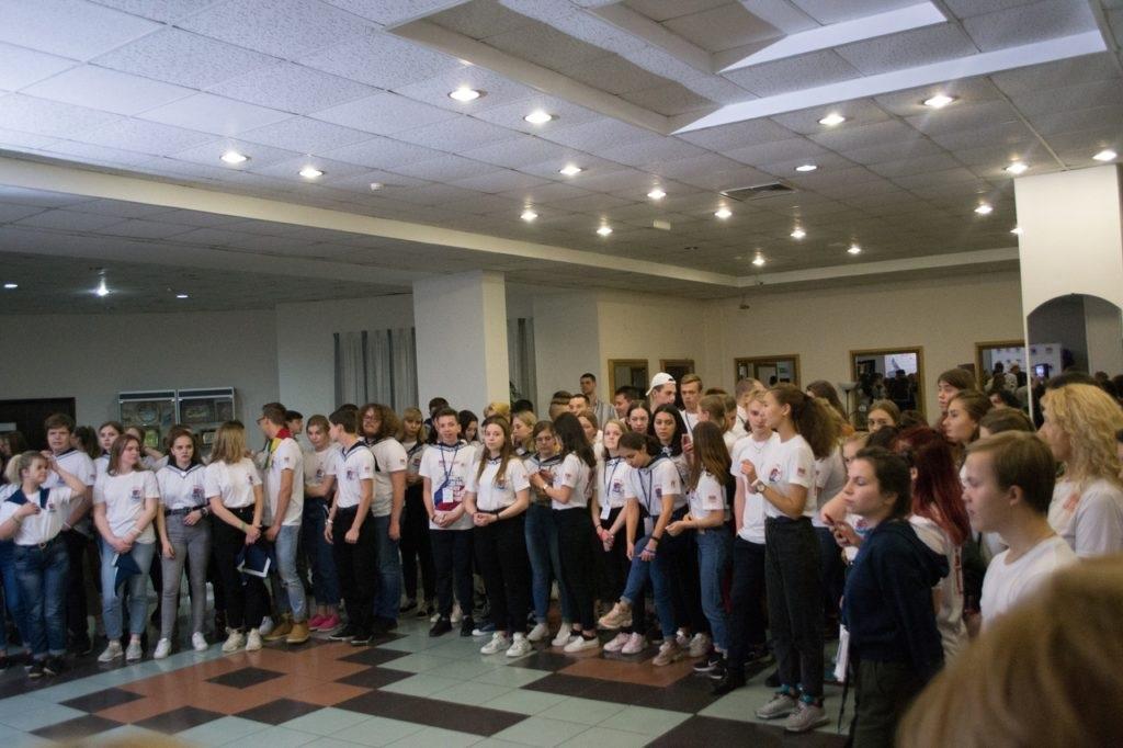 Активисты проекта «Волонтер» приняли участие во всероссийском слете волонтеров 2