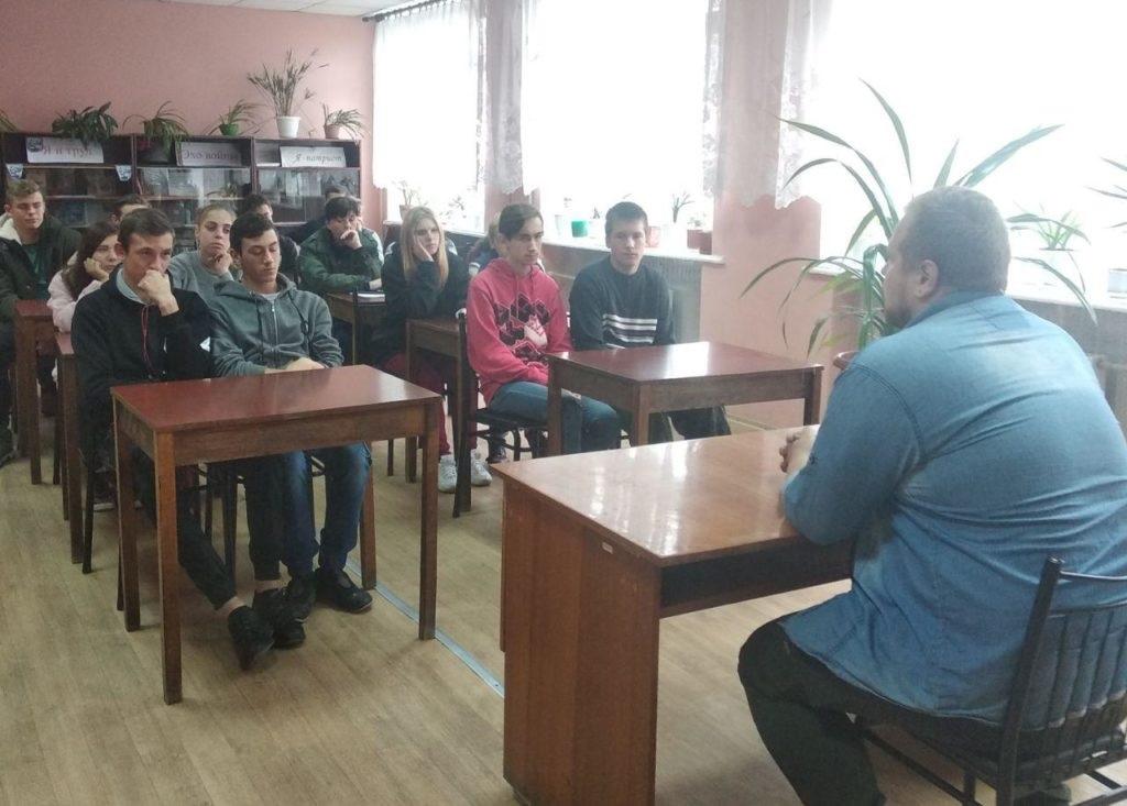 На базе Стахановского колледжа технологий машиностроения было открыто первичное отделение проекта «Молодая гвардия» ОД «Мир Луганщине» 2
