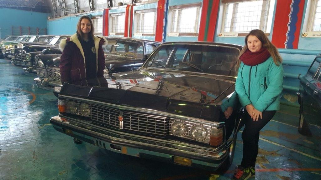 Краснодонские студенты в гостях у «Ночных Волков» 4