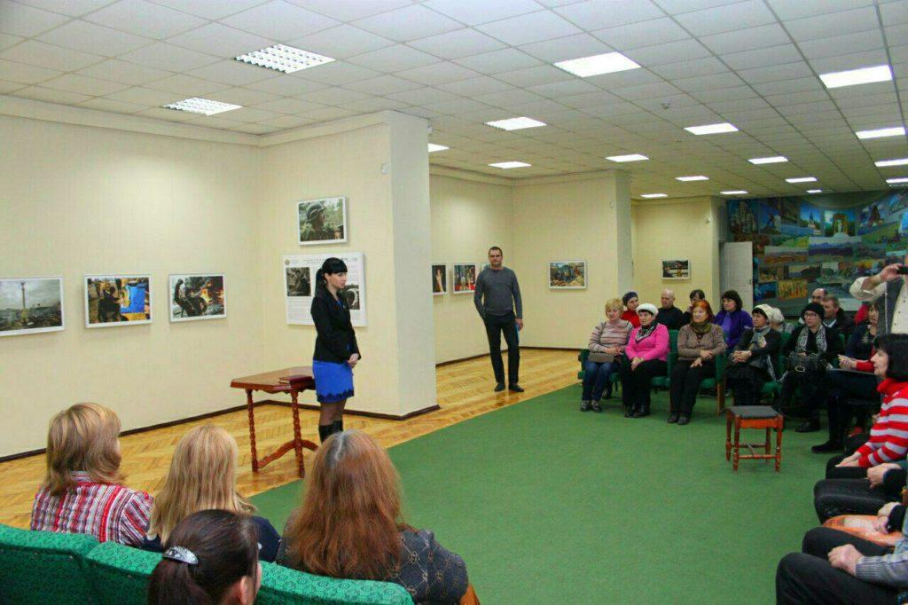 Александра Коваленко провела встречу с трудовыми коллективами Луганского художественного музея и Луганской художественной галереи 1