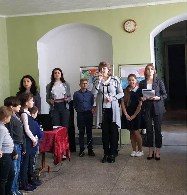 «Эстафету Победы» приняли учащиеся Суходольской школы 1