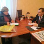 Депутат Народного Совета ЛНР Владимир Поляков встретился с жителями Перевальска
