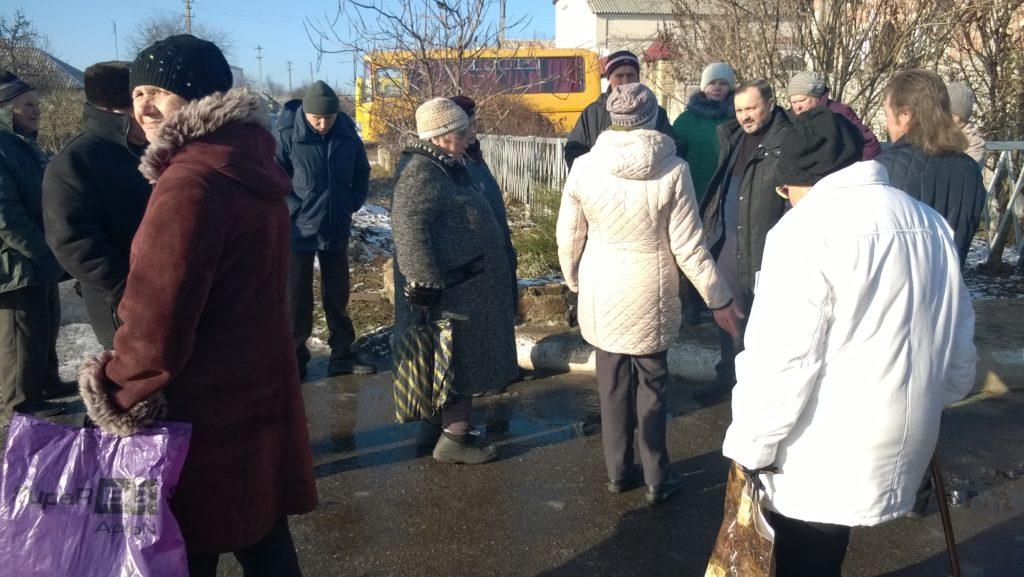 Депутат Народного Совета ЛНР Андрей Лицоев встретился с жителями Славяносербского района 3