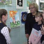 Открытие выставки рисунков «Дети рисуют мир» прошло в Луганске