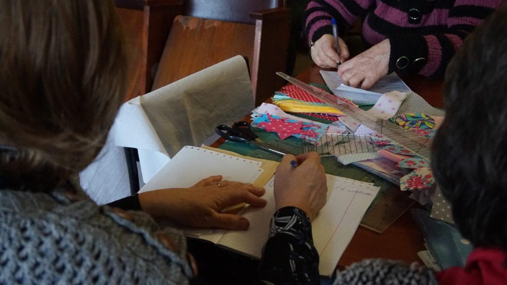 В Луганском Дворце культуры прошло занятие по лоскутному шитью 4