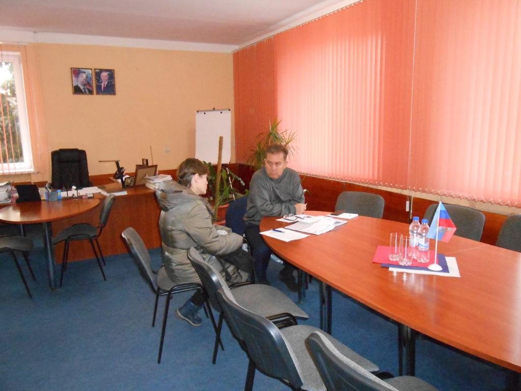 Виталий Михайлов встретился с жителями Перевальска 1
